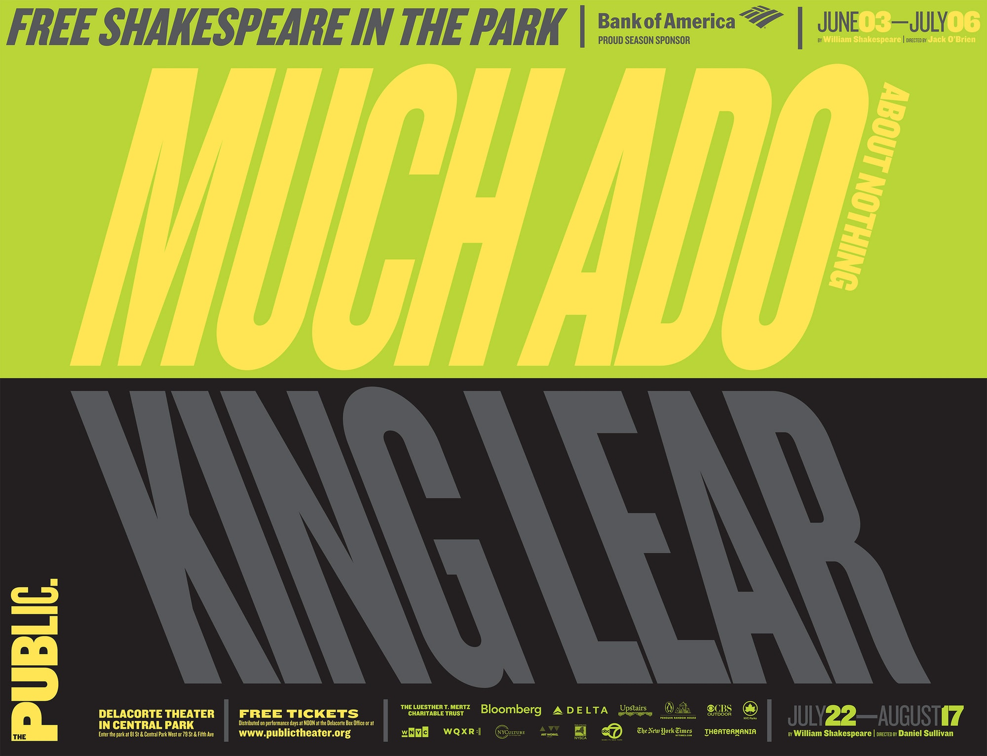 ludwig janoff — visual design shakespeare in the park 2014